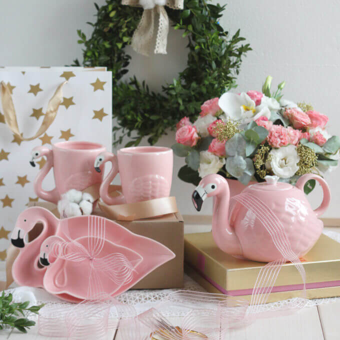Фото 2 - Чайник Фламинго -20%.