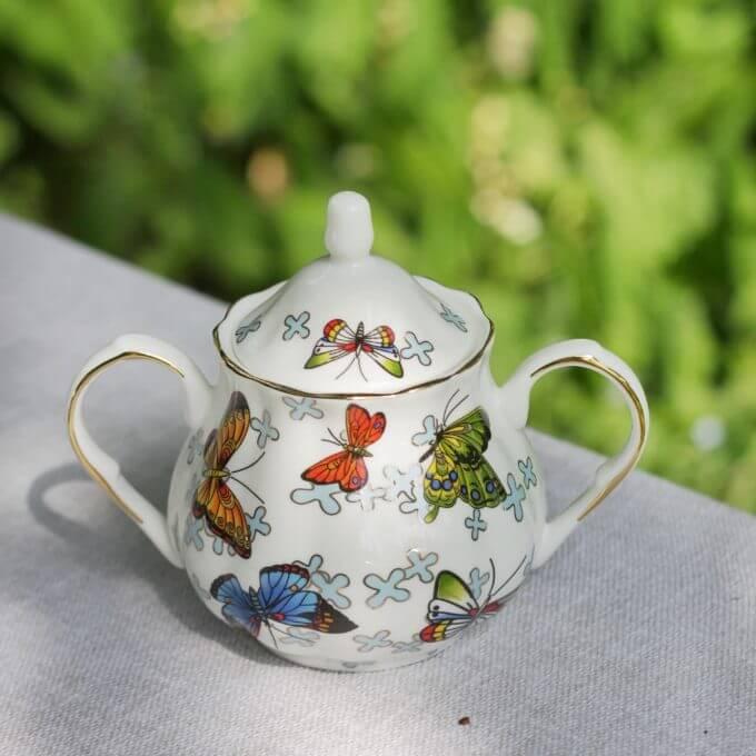 Фото 2 - Предметы из чайного набора Butterflies.