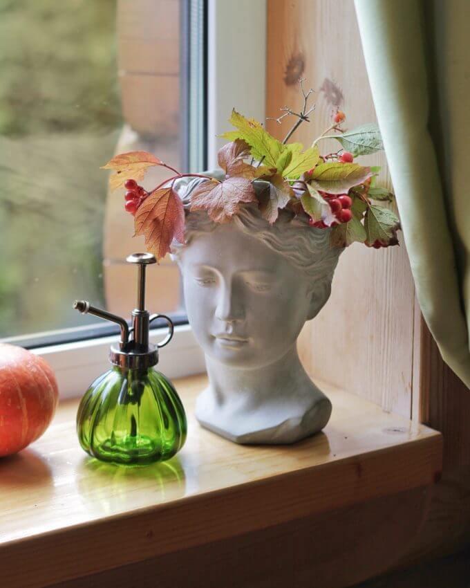 Фото 1 - Арт-ваза Античная девушка.