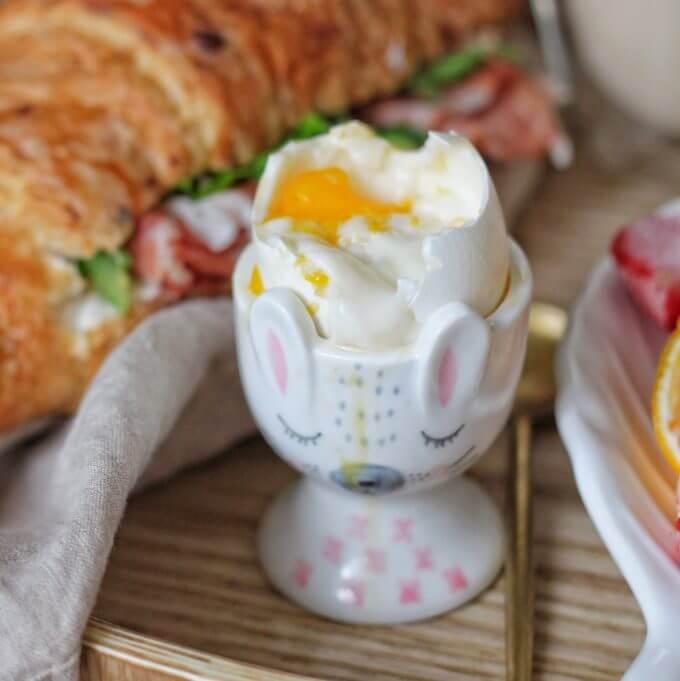 Фото 1 - Подставка для яйца Зайка.