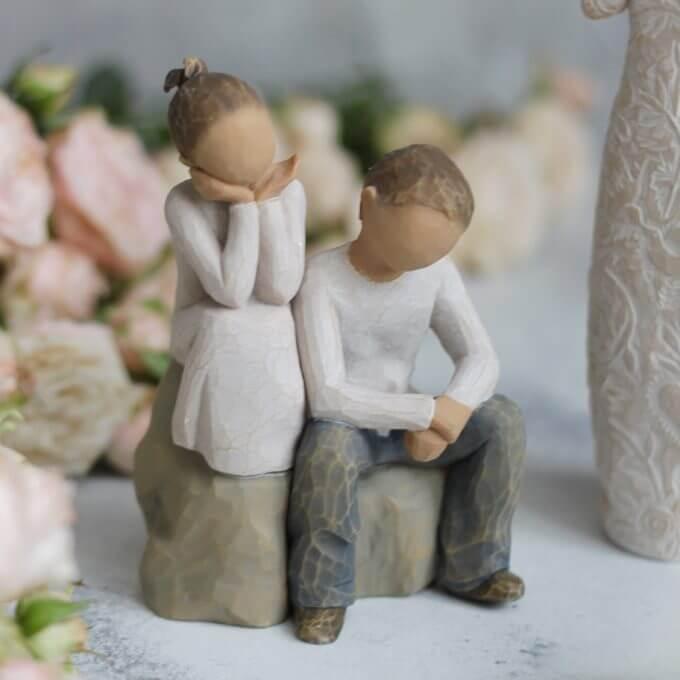 Фото 1 - Фигурка со смыслом Brother and Sister.