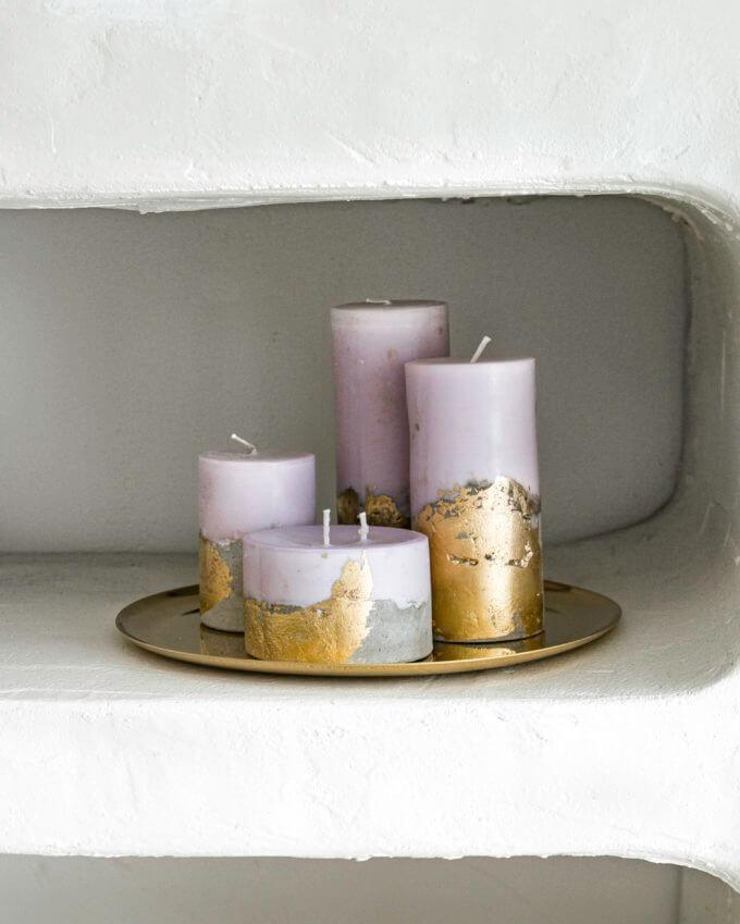 Фото 1 - Свечи Lilac & Gold.