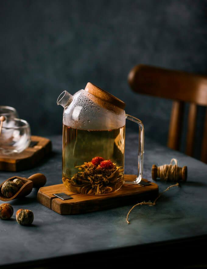 Фото 6 - Чайник-кувшин с пробковой крышкой button.