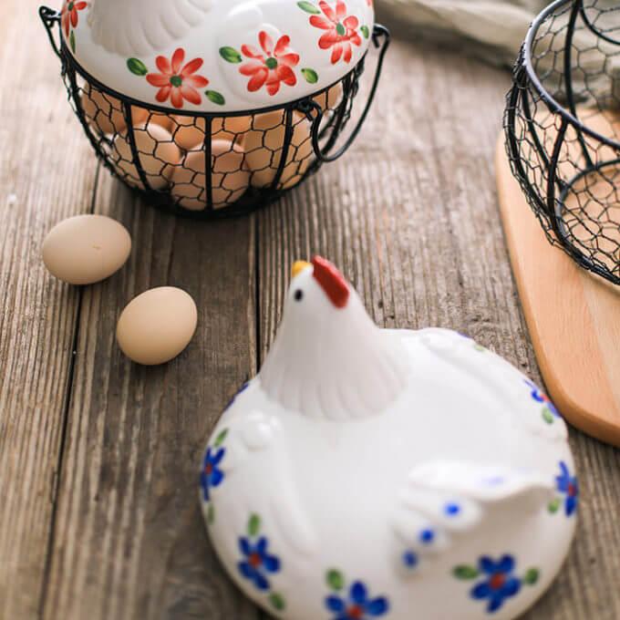 Фото 6 - Корзина для хранения Chicken Basket.