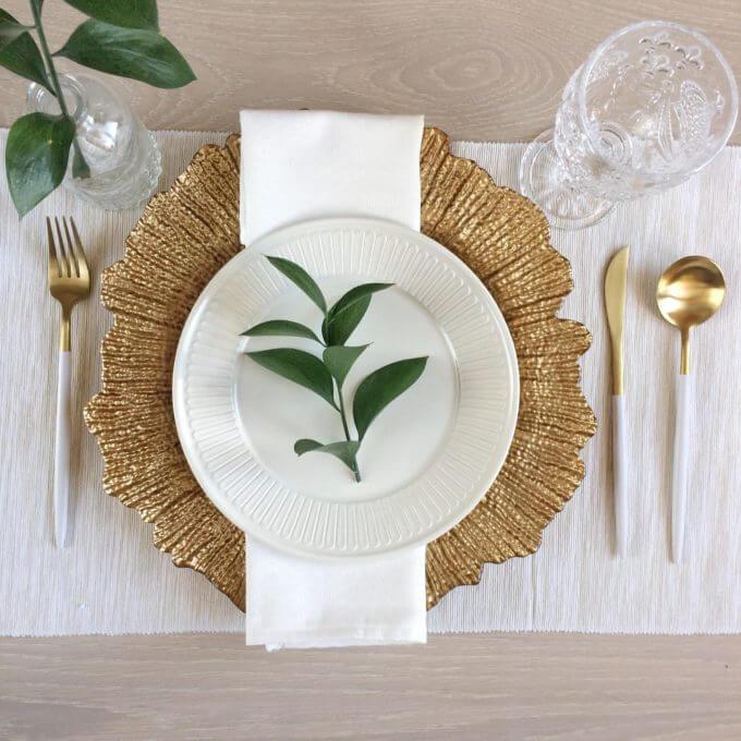 Фото 5 - Блюдо Golden Burst.