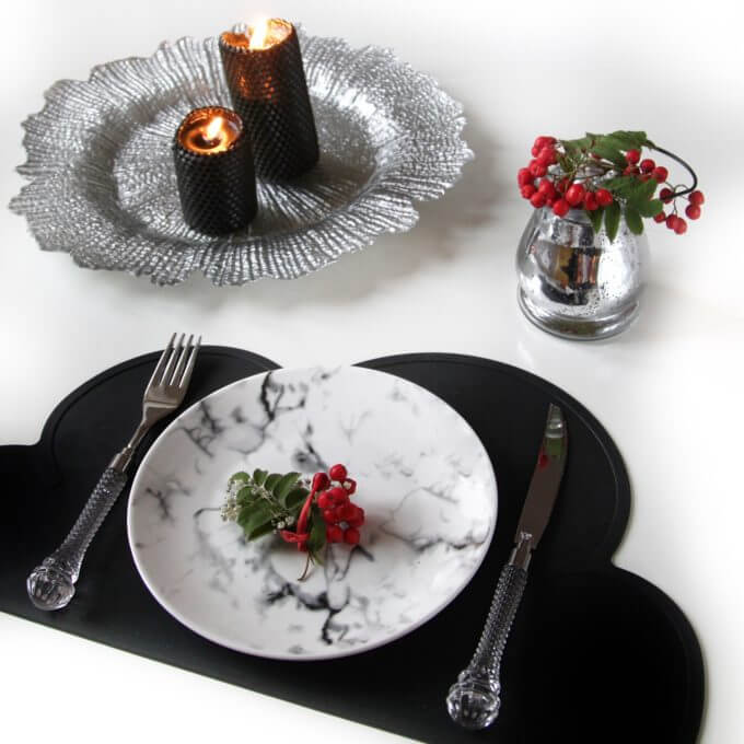 Фото 4 - Мраморная тарелка.