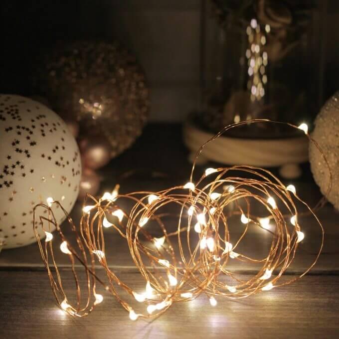 Фото 1 - Гирлянда с лампочками-капельками.