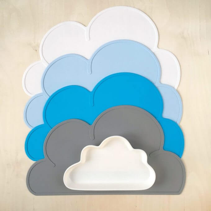коврик облако, салфетка облако, силиконовая салфетка для ребенка