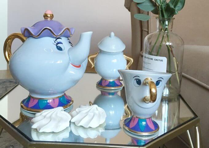 Миссис Поттс, посуда из красавица и чудовище, чайник Mrs potts