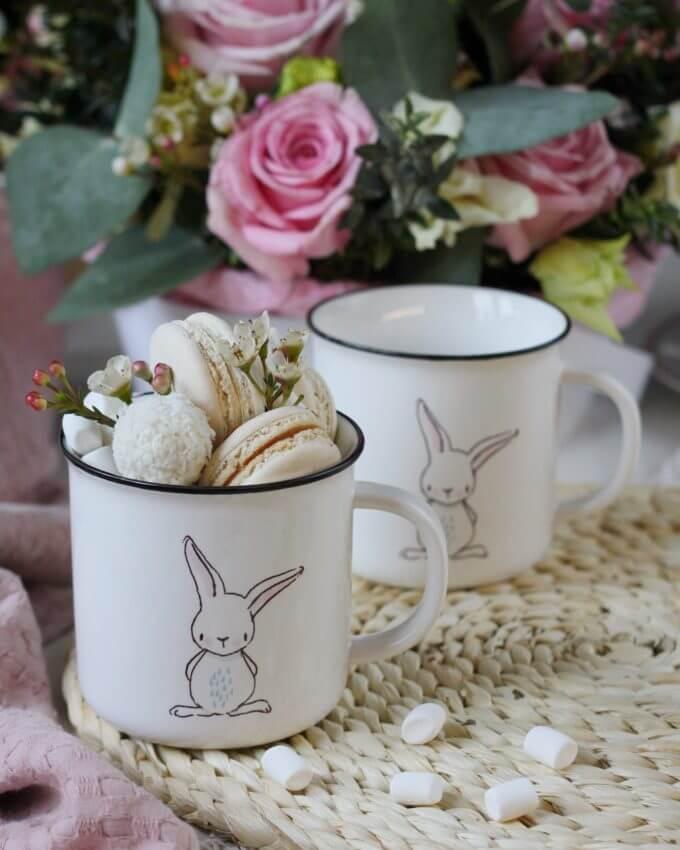 Фото 1 - Кружка Love bunny.