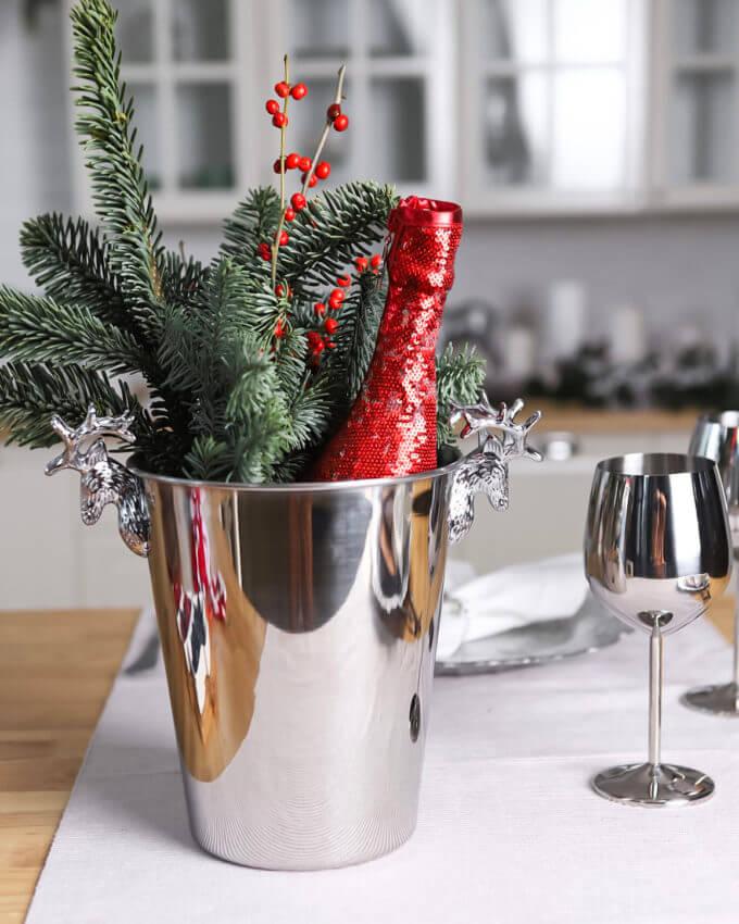 Фото 1 - Ведро для шампанского Dear Deer.
