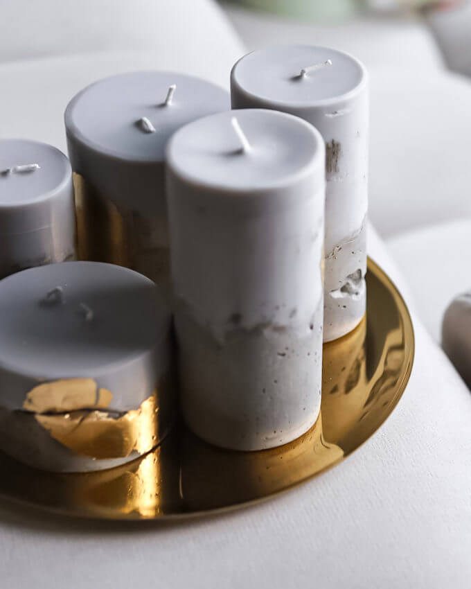 Фото 3 - Тарелка для свечей.