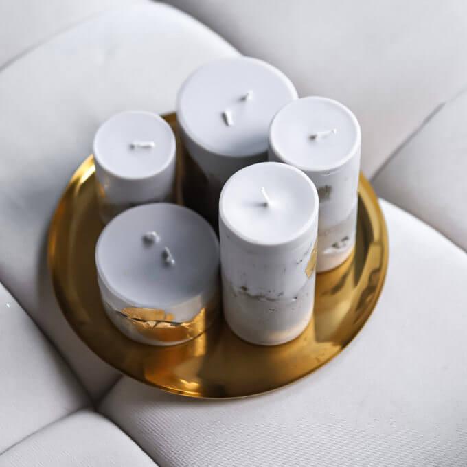 Фото 2 - Тарелка для свечей.
