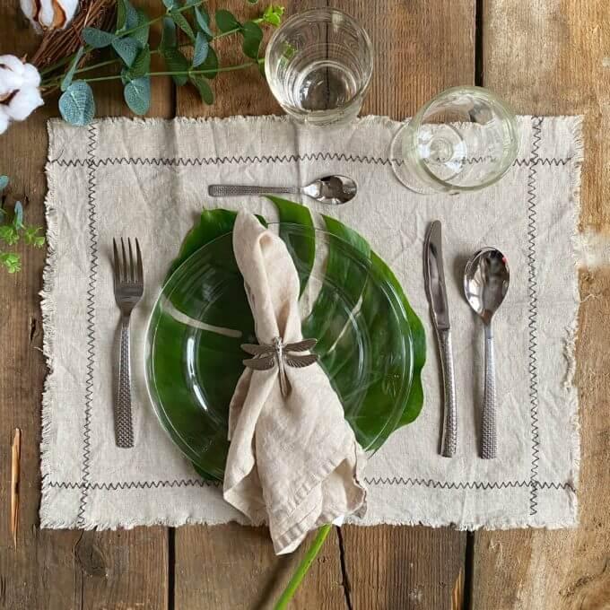 Фото 4 - Стеклянная тарелка со стрекозами -50%.