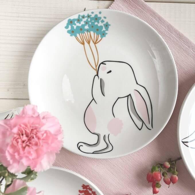 Фото 5 - Тарелки с кроликами Love Bunny.