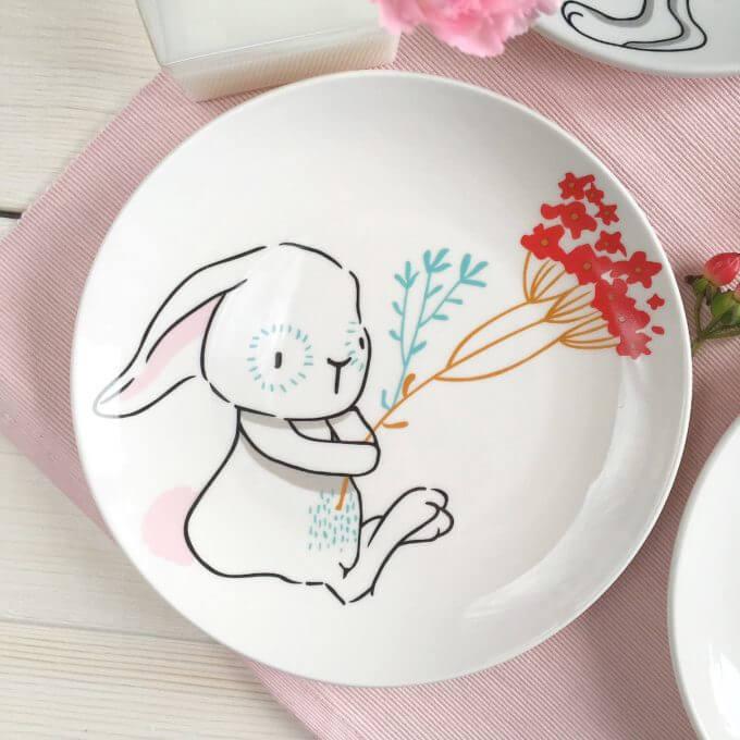 Фото 3 - Тарелки с кроликами Love Bunny.