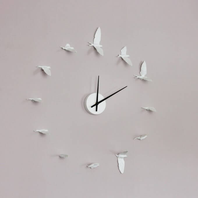 Фото 1 - Часы Birds.