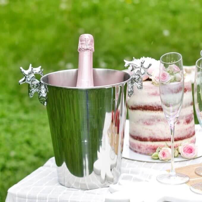 Фото 3 - Ведро для шампанского Dear Deer.