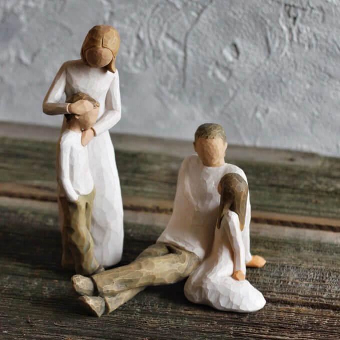 Фото 3 - Фигурка со смыслом Father and Daughter.