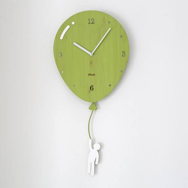 Фото 1 - Часы с маятником Воздушный шар.