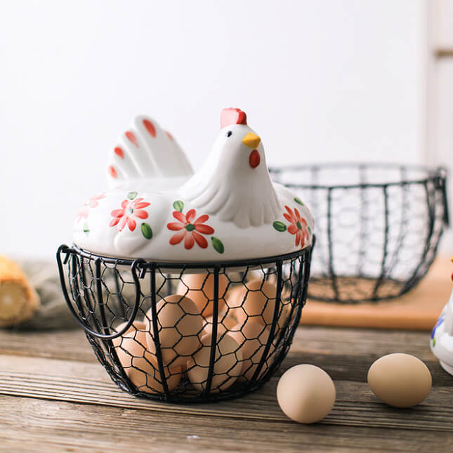 Фото 3 - Корзина для хранения Chicken Basket.