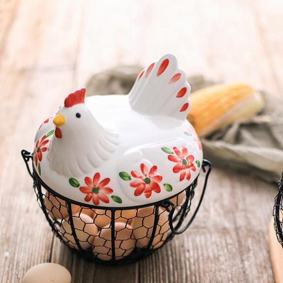 Фото 4 - Корзина для хранения Chicken Basket.