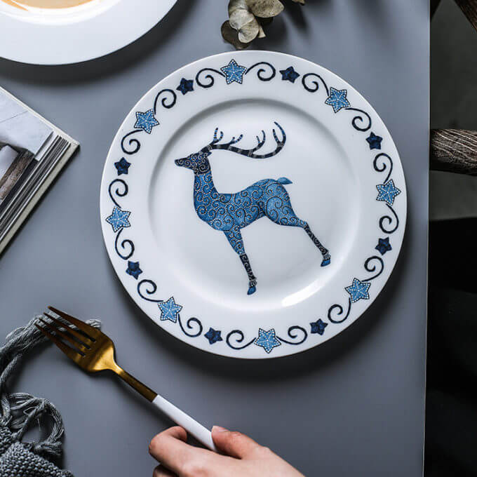 Фото 3 - Тарелка Dear Deer.