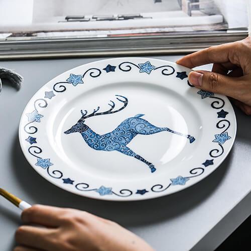 Фото 4 - Тарелка Dear Deer.