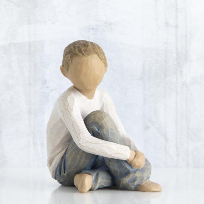 Фото 1 - Фигурка со смыслом Caring Child.