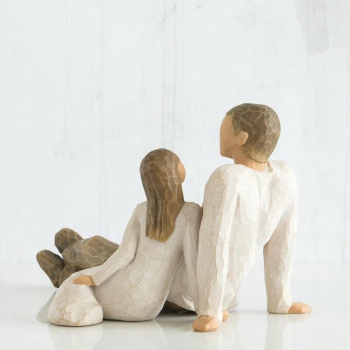 Фото 2 - Фигурка со смыслом Father and Daughter.