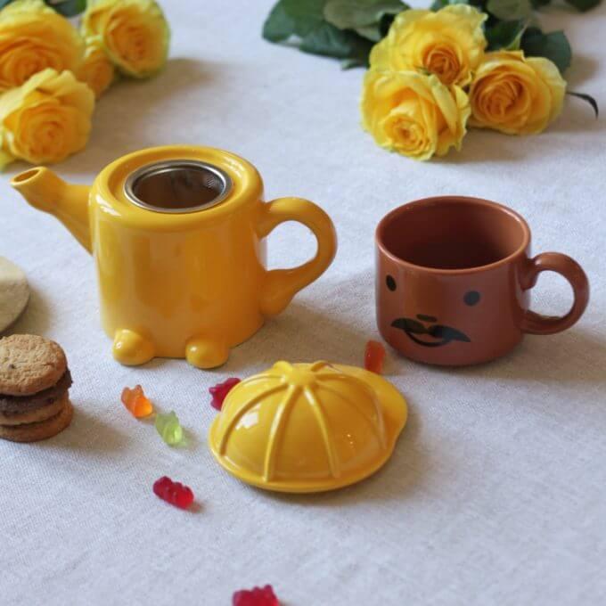 Фото 2 - Чайный набор Строитель -50%.