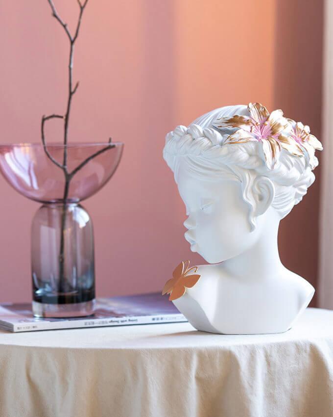 Фото 3 - Декор Девочка с бабочкой -15%.
