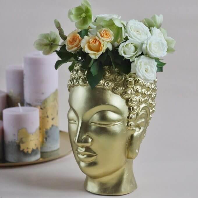 Фото 1 - Арт-ваза Будда малый -15%.