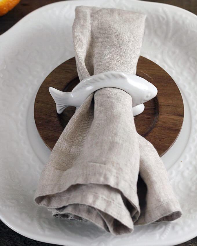 Фото 2 - Кольца для салфеток Fish (2шт).