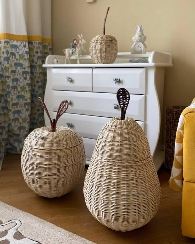 Фото 3 - Плетеные корзины Фрукты.
