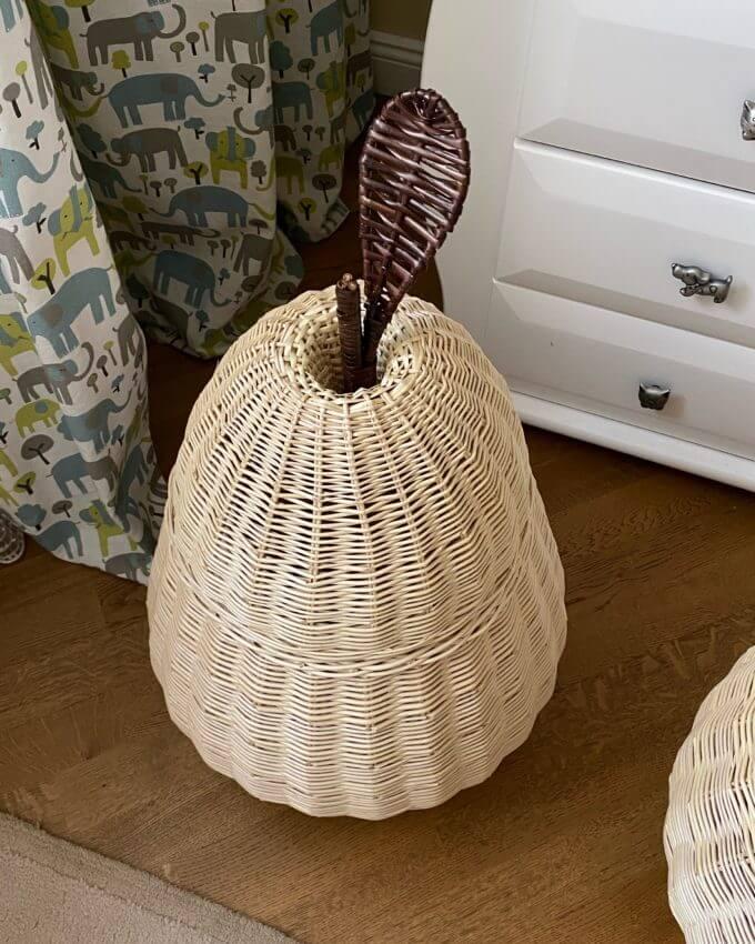 Фото 6 - Плетеные корзины Фрукты.