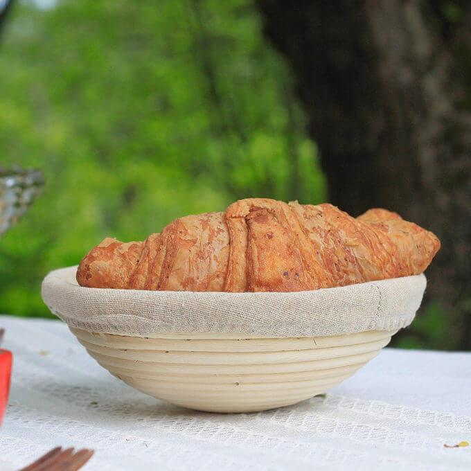 Фото 1 - Хлебница из ротанга -50%.