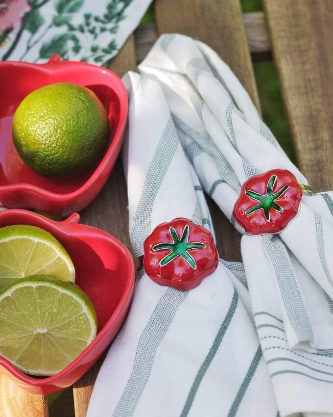 Фото 1 - Кольца для салфеток Tomato (2шт.).