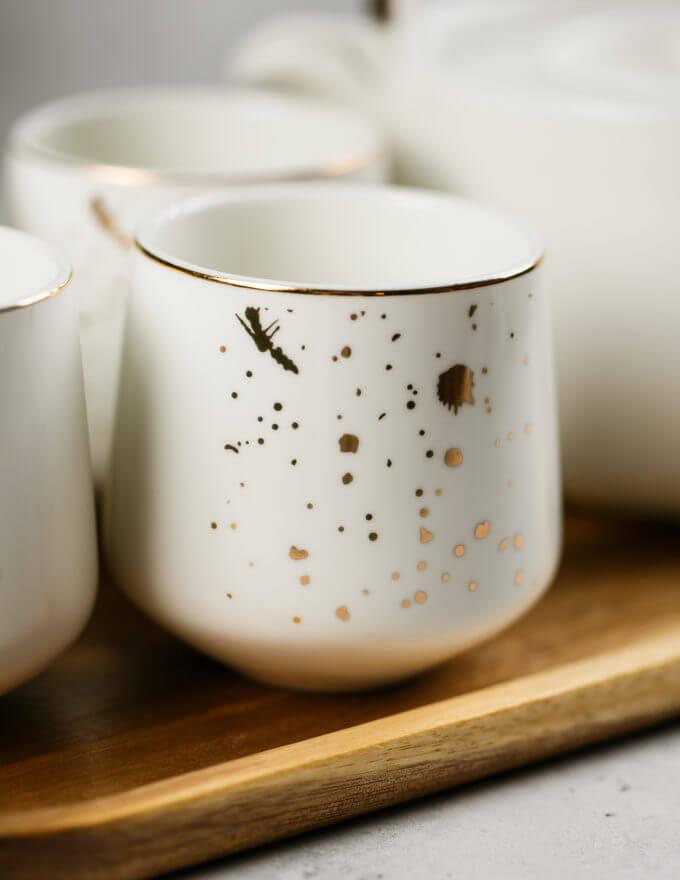 Фото 4 - Чайный набор Golden Splash.