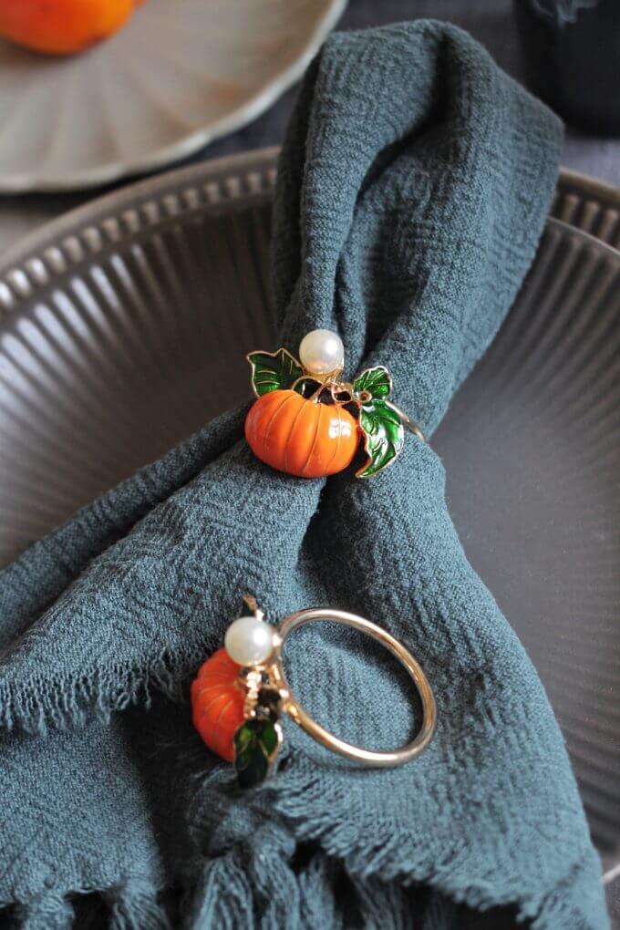 Фото 1 - Кольца для салфеток Pumpkin (2шт).