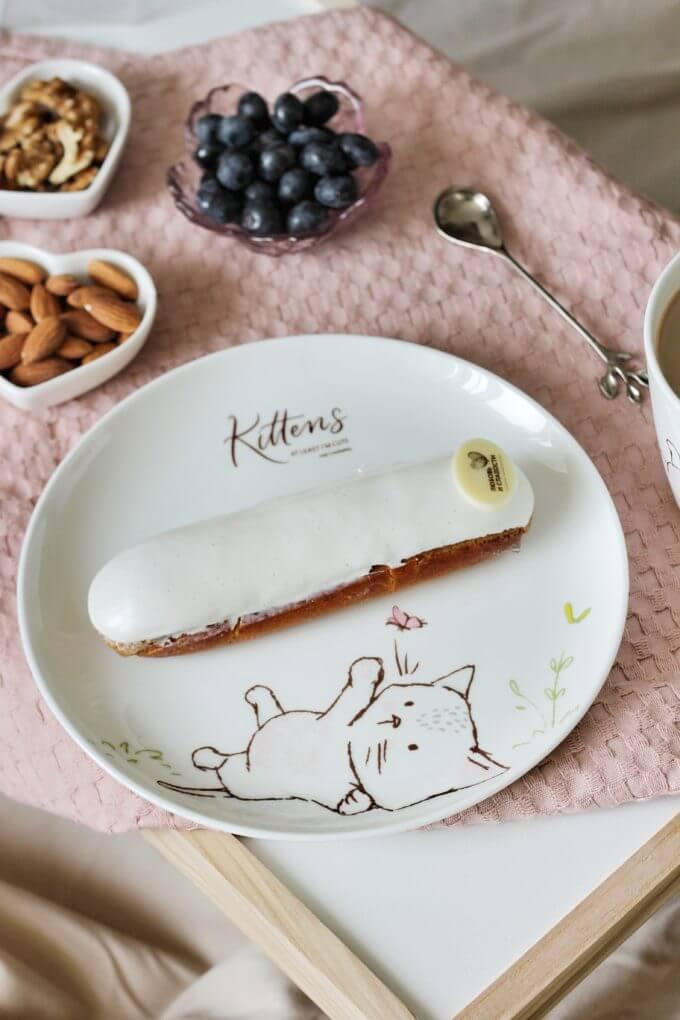 Фото 5 - Посуда из костяного фарфора Kittens.