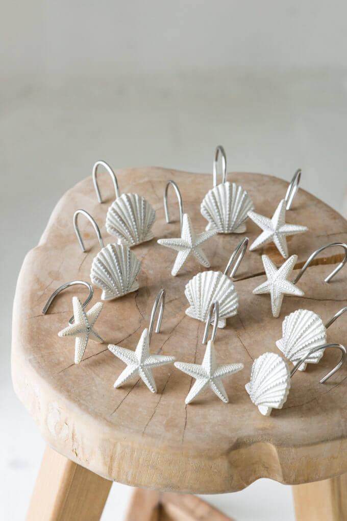 Фото 1 - Крючки для шторы Sea Stars and Shells.