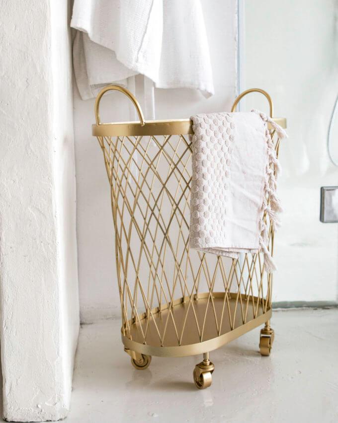 Фото 1 - Золотая корзина Wheel basket.