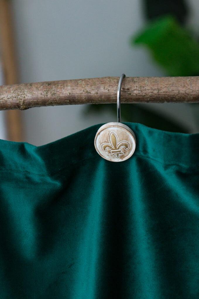 Фото 1 - Крючки для шторы Antique.