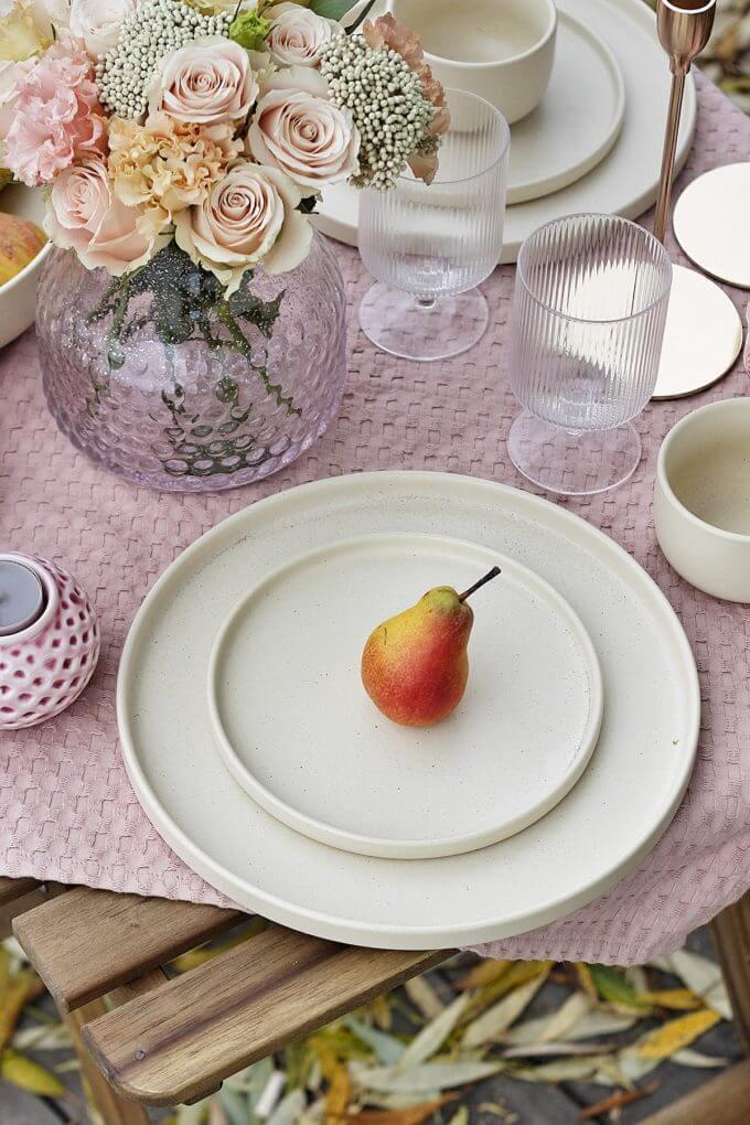 Фото 1 - Плоские тарелки Creme.