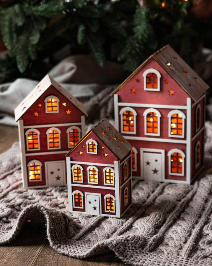 Фото 1 - Английские домики Красные.
