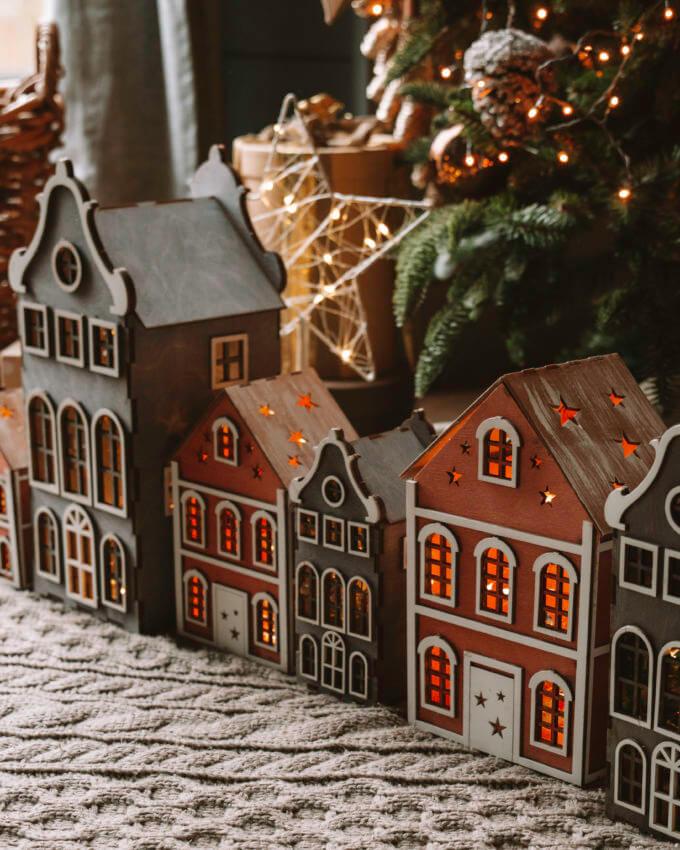 Фото 1 - Голландские домики Серые.