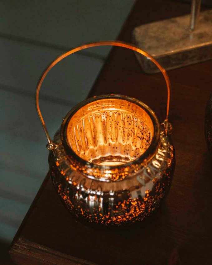 Фото 3 - Подсвечник-ваза Mercury.