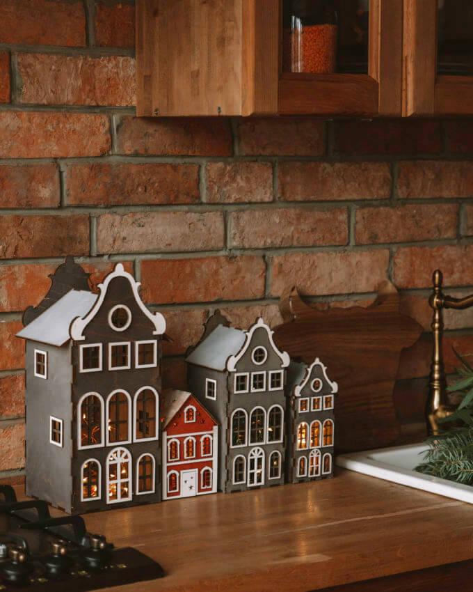 Фото 2 - Голландские домики Серые.