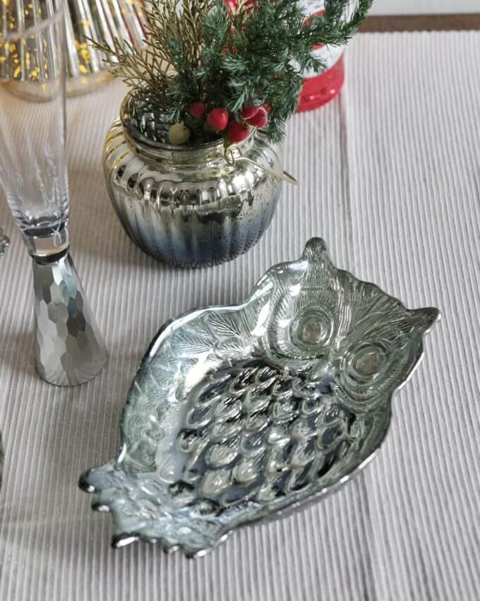Фото 2 - Серебряная тарелочка Owl.